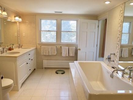 Orleans Cape Cod vacation rental - Master bathroom.