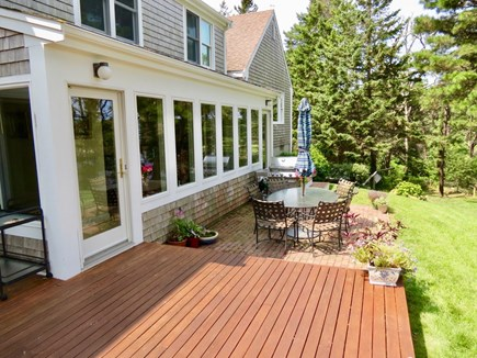 Orleans Cape Cod vacation rental - Deck directly off the kitchen