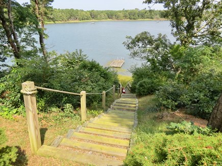 Orleans Cape Cod vacation rental - Steps leading to the water.