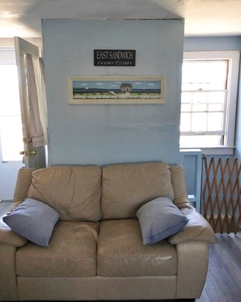East Sandwich Cape Cod vacation rental - Additional living room seating.