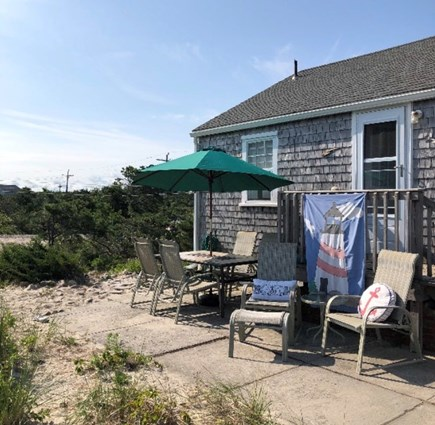East Sandwich Cape Cod vacation rental - The patio