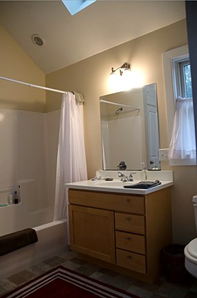 Provincetown Cape Cod vacation rental - Full bath on second floor with  bedrooms