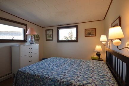 Truro Cape Cod vacation rental - Queen bedroom 2 - will have new bedding for summer