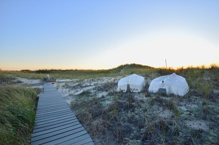 Truro Cape Cod vacation rental - Private 50`path to the beach shared with neighboring cottages