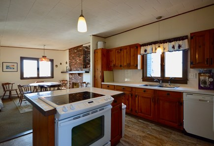 Truro Cape Cod vacation rental - Kitchen and dining area