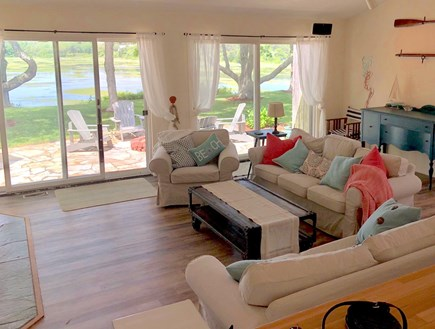 Eastham Cape Cod vacation rental - Open Living Space