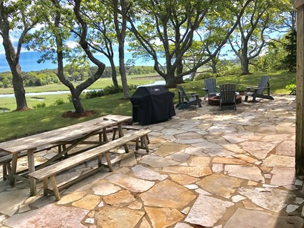 Eastham Cape Cod vacation rental - You'll never tire of the panoramic view from the new patio.