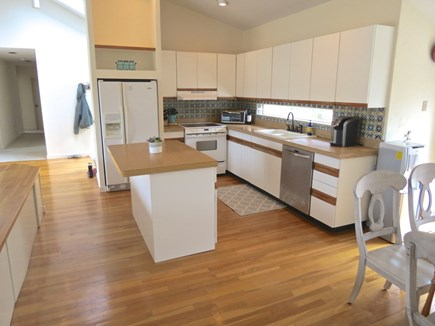 Eastham Cape Cod vacation rental - Fully equipped kitchen is open to the living area and patio