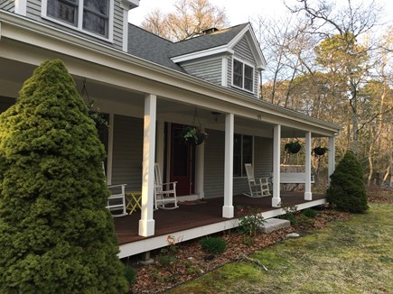North Eastham Cape Cod vacation rental - Roomy, 2200 sf classic Cape with mahogany front porch!