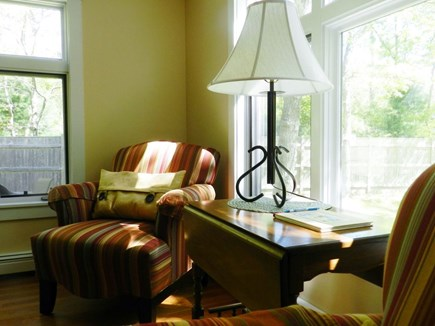 North Eastham Cape Cod vacation rental - The kitchen features a comfy coffee nook!