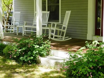 North Eastham Cape Cod vacation rental - Relax in our porch rockers