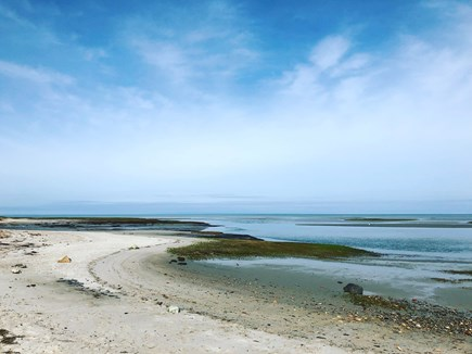 Eastham, Aerie, a 2nd story suite Cape Cod vacation rental - Boat Meadow Beach is 1/2 mile away