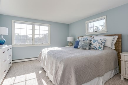 Chatham Cape Cod vacation rental - Here's the master bedroom, upper level, king bed