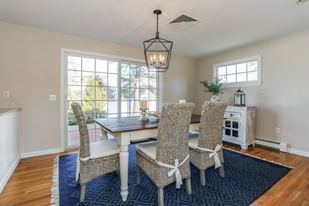 Chatham Cape Cod vacation rental - Dining room just off the living room and kitchen