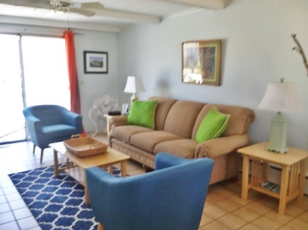 Dennis Cape Cod vacation rental - Nice den with sliders to deck
