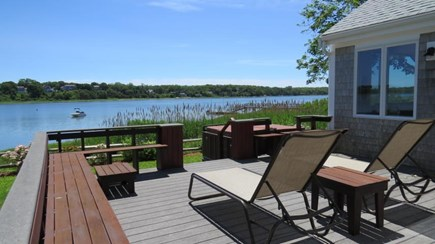 Eastham Cape Cod vacation rental - Open deck with expansive water views