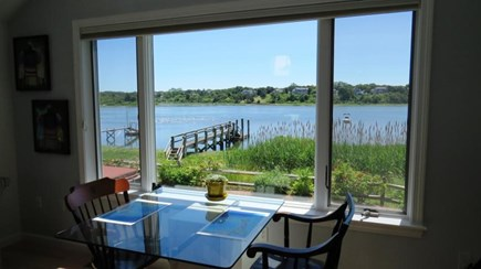 Eastham Cape Cod vacation rental - One dining area with a view!