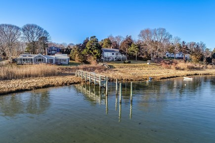 Eastham Cape Cod vacation rental - Dock alternate view