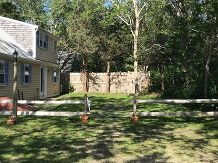 Eastham near the bayside Cape Cod vacation rental - Private yard