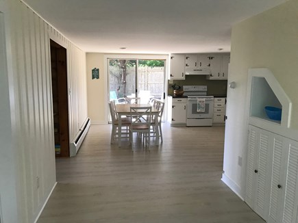 Eastham near the bayside Cape Cod vacation rental - Entryway looking into the Kitchen