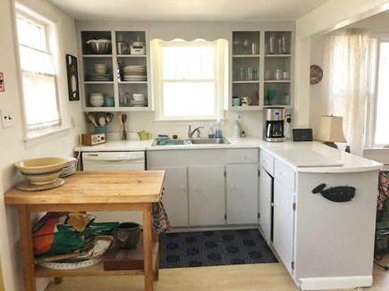 Wellfleet Cape Cod vacation rental - Quaint kitchen with everything you need