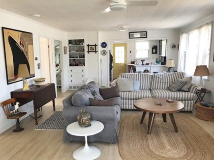 Wellfleet Cape Cod vacation rental - Downstairs open floor plan