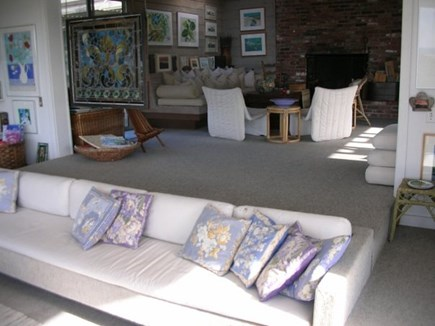 South Truro Cape Cod vacation rental - Conversation Pit