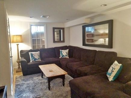 Centerville Centerville vacation rental - Lower level TV room
