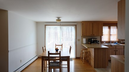 Eastham Cape Cod vacation rental - Open kitchen and living room areas