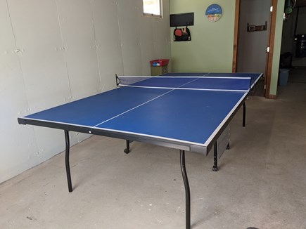 Eastham Cape Cod vacation rental - Large basement has full size pingpong