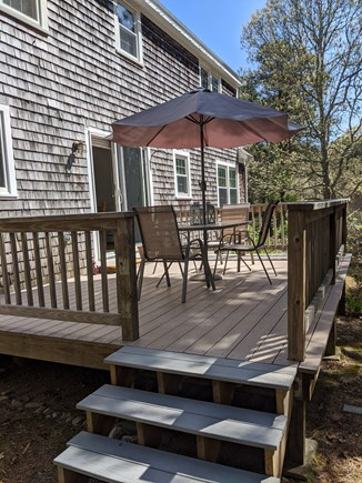 Eastham Cape Cod vacation rental - Large deck for outdoor grilling and dining
