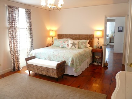Truro Cape Cod vacation rental - Bedroom with King in Main House