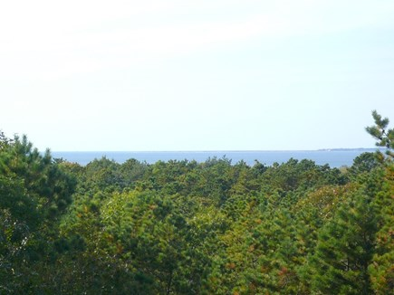Truro Cape Cod vacation rental - Distant Water views and Sunsets from Upstairs Deck in Main House