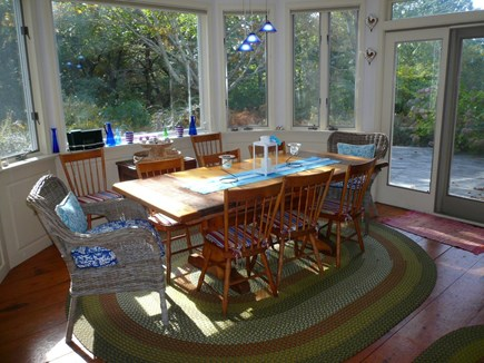 Truro Cape Cod vacation rental - Dining Area in Main House
