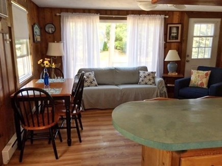 Eastham Cape Cod vacation rental - Kitchen into the Living Room View
