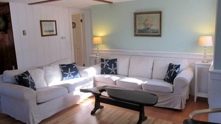 Eastham Cape Cod vacation rental - Bright, comfortable living room
