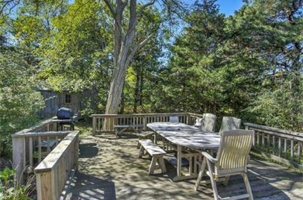 Eastham Cape Cod vacation rental - Great deck for relaxing and grilling