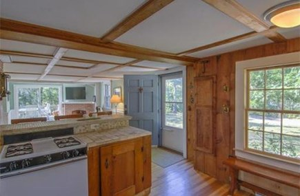 Eastham Cape Cod vacation rental - Kitchen fully stocked with plates, cups, utensils, spices