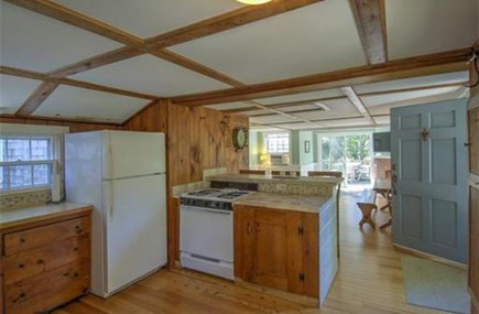 Eastham Cape Cod vacation rental - Open concept kitchen / living room