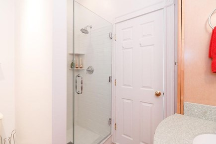 Chatham Cape Cod vacation rental - Large walk-in shower in bathroom 1