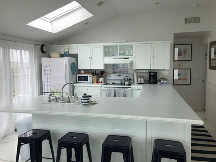 Chatham Cape Cod vacation rental - Fully equipped kitchen and island with 4 stools