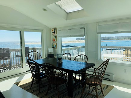 Chatham Cape Cod vacation rental - Dining area with views, sliders to two decks