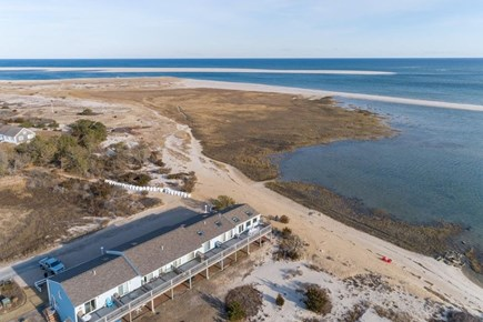 Chatham Cape Cod vacation rental - Aerial view of the property in off season