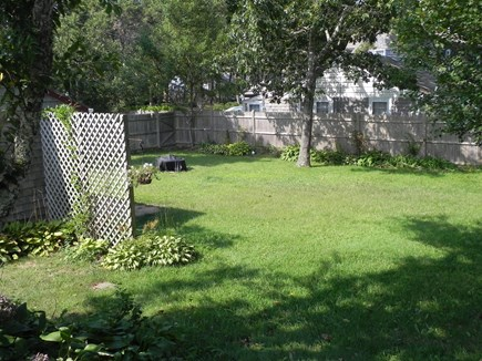 Dennisport Cape Cod vacation rental - Enjoy the outdoors in the large yard. Kids will love it.