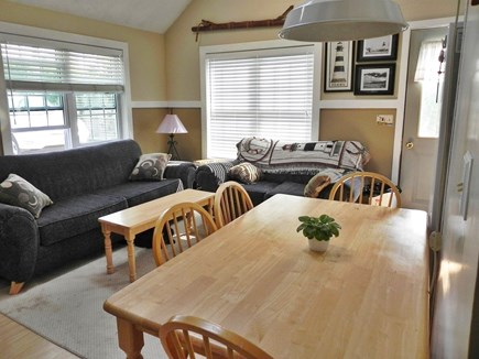 Dennisport Cape Cod vacation rental - Spacious living and dining area