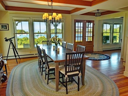West Falmouth Cape Cod vacation rental - Dinner with a View