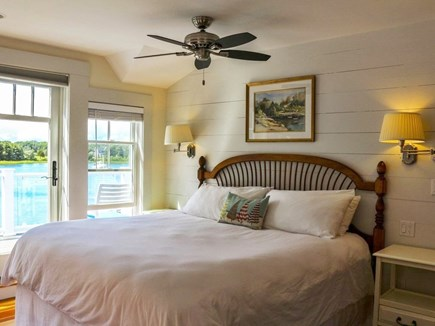 West Falmouth Cape Cod vacation rental - First Mate's bedroom w/ balcony