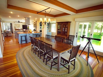 West Falmouth Cape Cod vacation rental - Full Dining Room