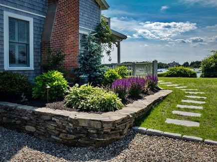 West Falmouth Cape Cod vacation rental - Front Garden