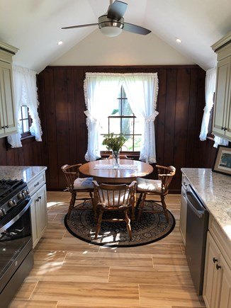 Bourne, Gray Gables Cape Cod vacation rental - Just remodeled new kitchen - new cabinetry/SS appliances/granite